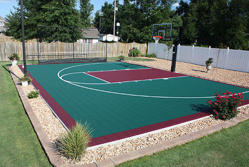 Tour Greens Michigan Backyard Basketball Court Installers